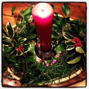 yuletide candle
